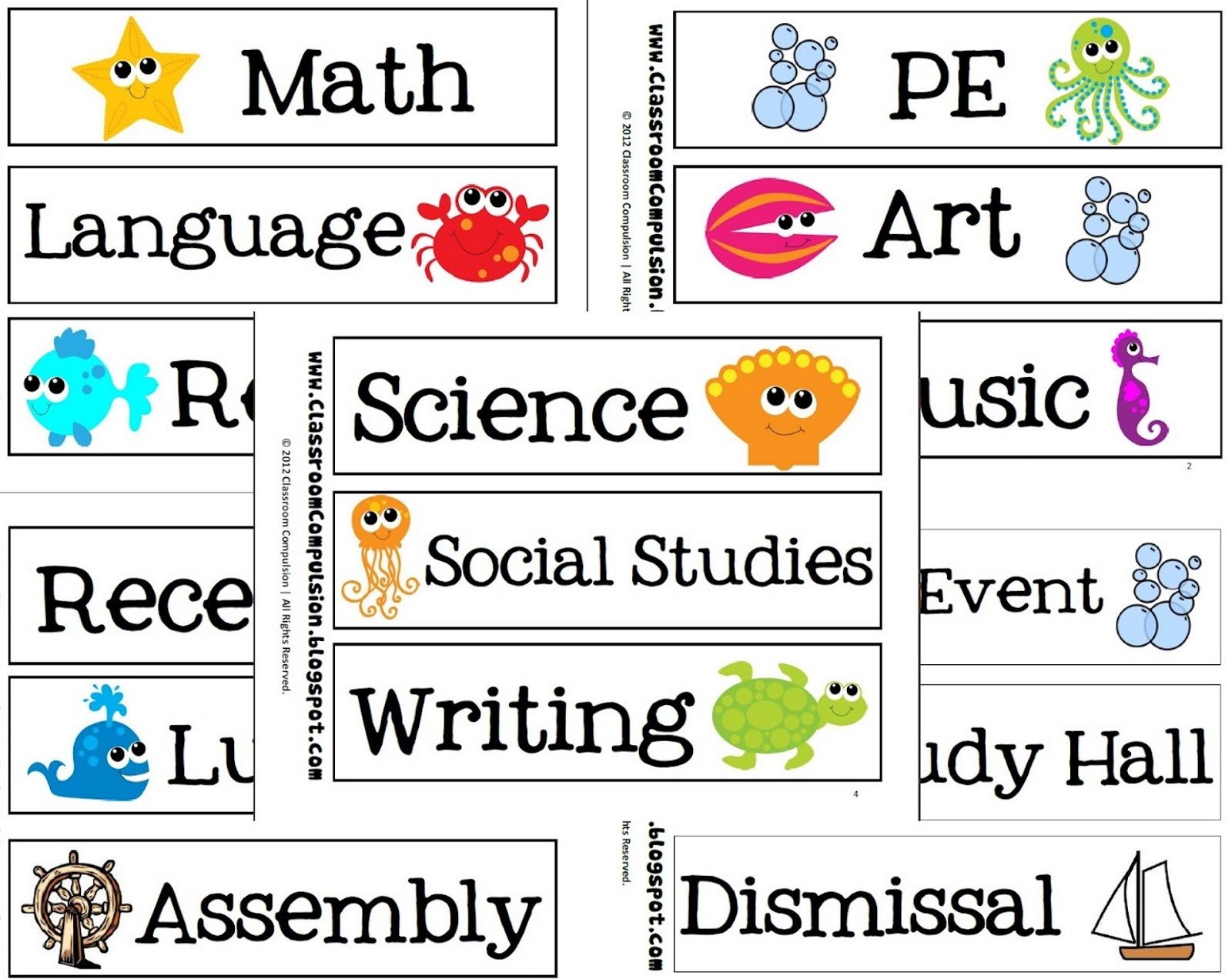 Science Tags: Blog Of Julia Tymoschuk: School Subjects