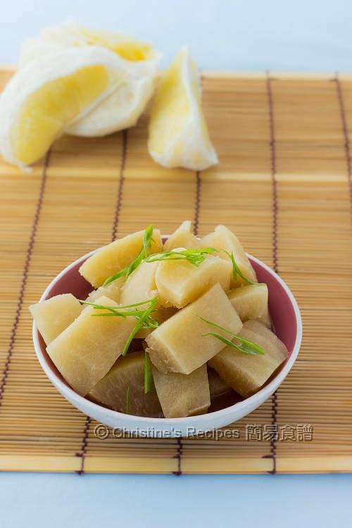 燜柚子皮 Braised Pomelo Pith01