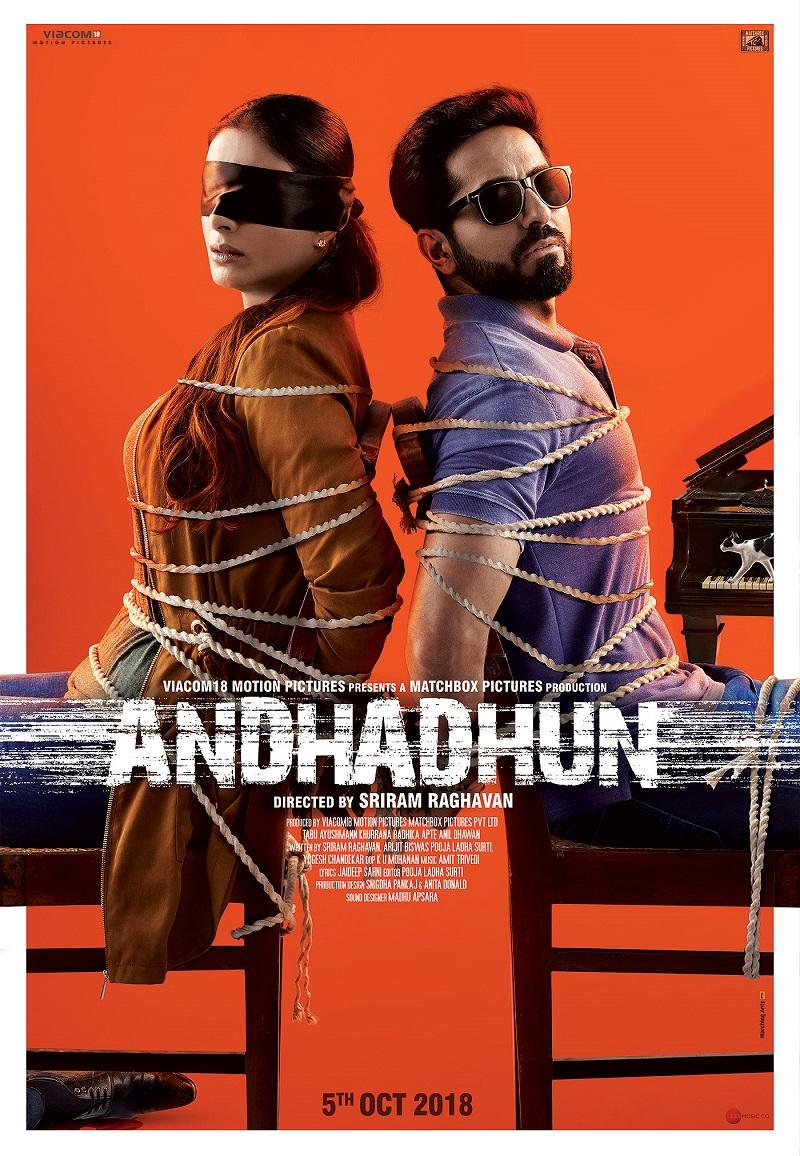 Andhadhun (2018) Hindi 720p BluRay x264 ESubs