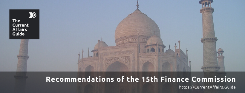 Recommendations of the 15th Finance Commission