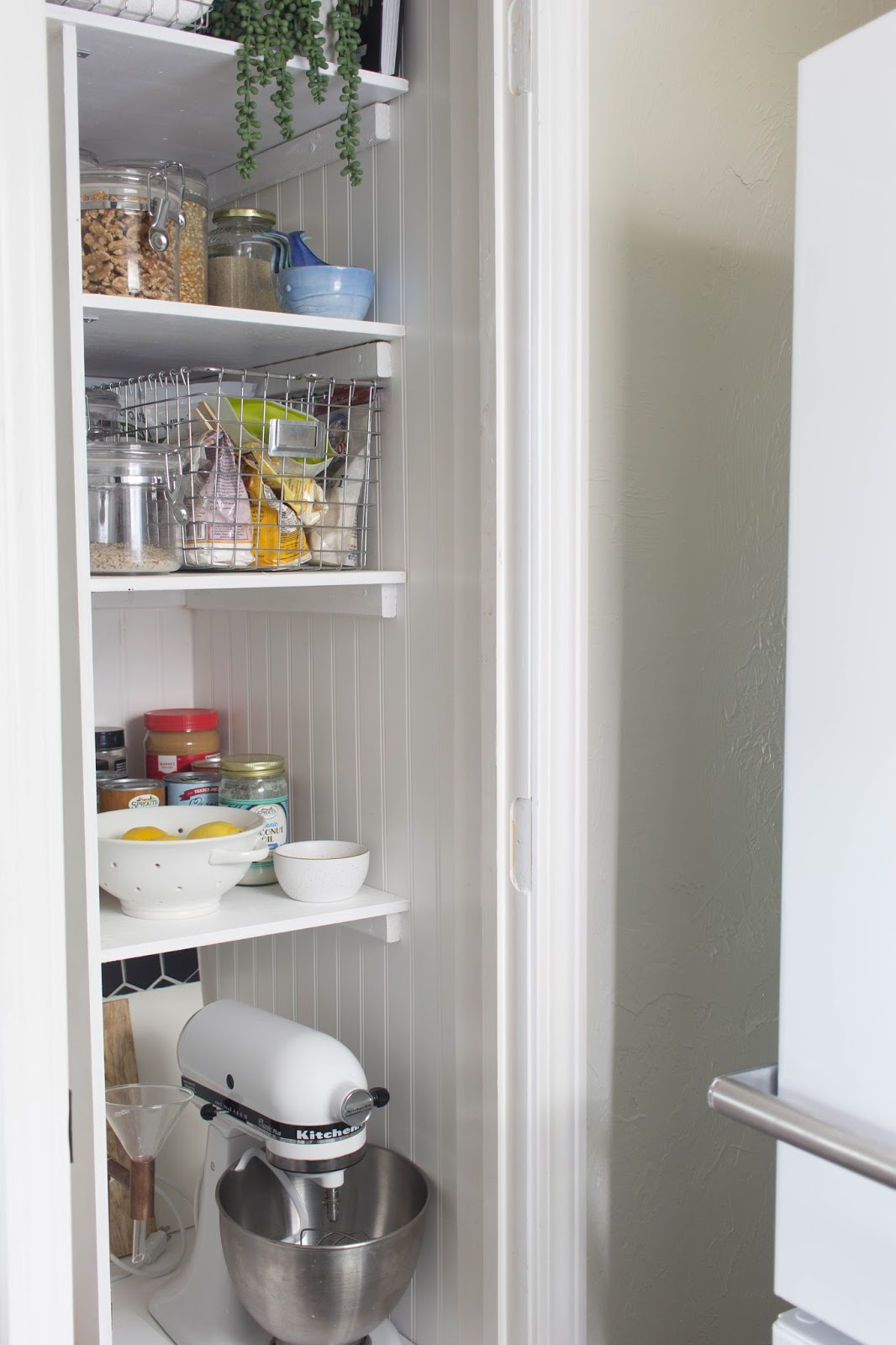 Turning A Water Heater Closet Into Pantry Before After