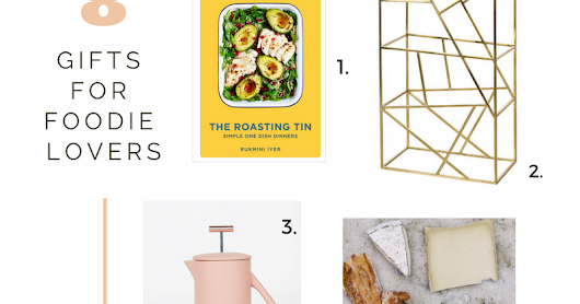 FOODIE LOVERS GIFT GUIDE