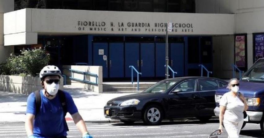 Recomiendan reabrir las escuelas de Estados Unidos con uso obligatorio de mascarillas