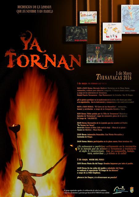Programación YA TORNAN 2016