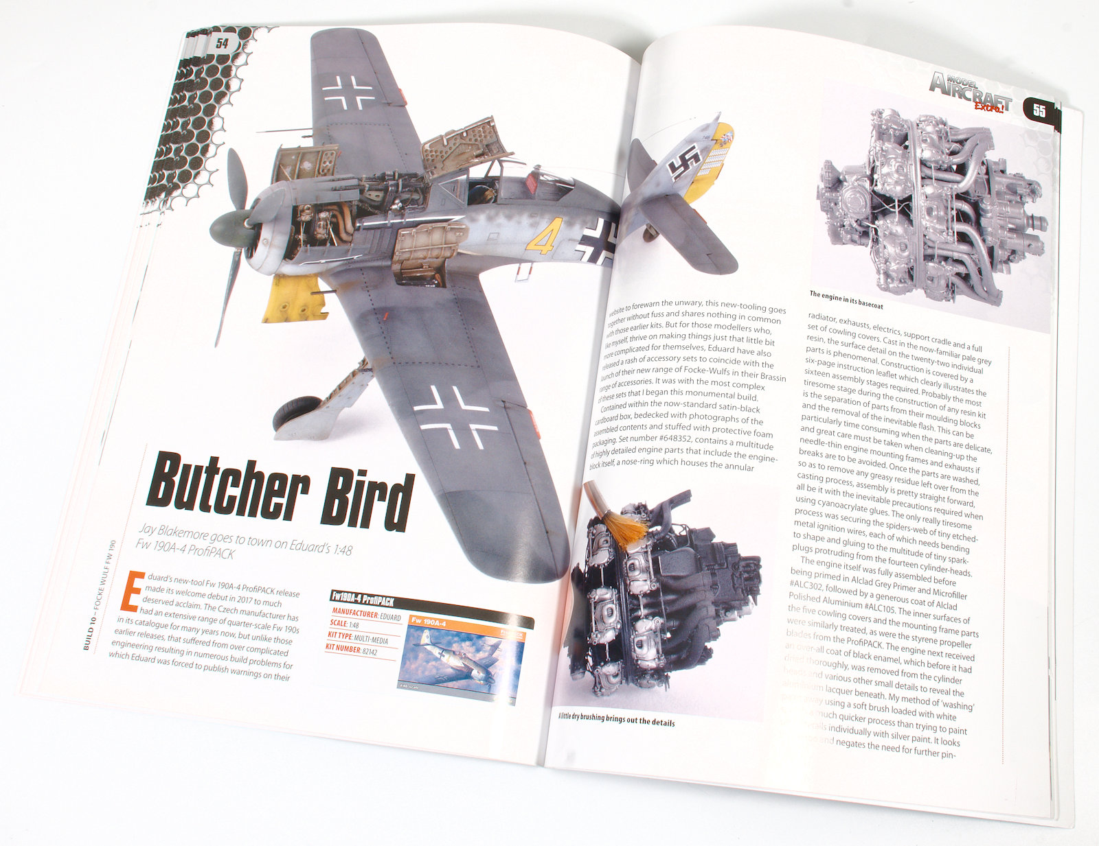 The Modelling News: Read n' Reviewed: Model Aircraft Extra No  1