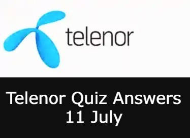 11 July Telenor Answers Today