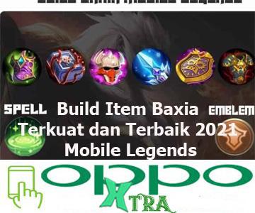 Build Item Baxia Terkuat dan Terbaik 2021 Mobile Legends