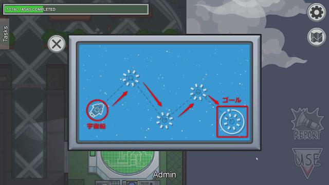 Chart Course(船の進路を決める)説明画像
