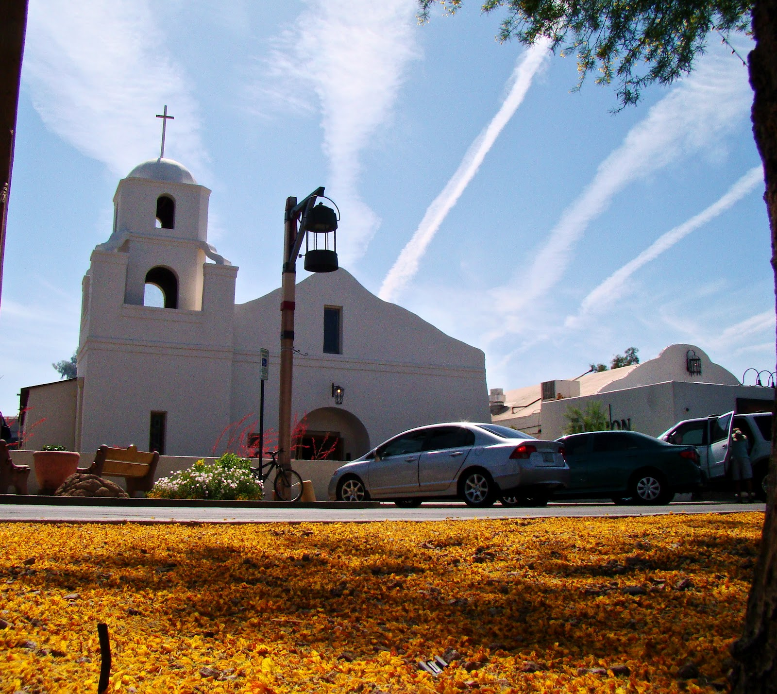 Mission Scottsdale 1889: Scottsdale Daily Photo: Photo: Scottsdale Mission And A
