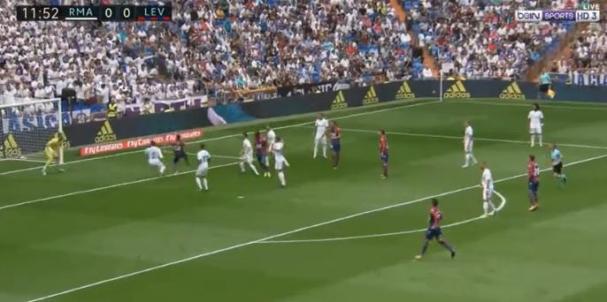 فيديو : سقوط الريال مجددا فى فخ التعادل امام ليفانتي , تعادل ايجابى وطرد - real-madrid-vs-levante