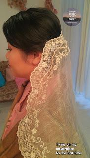 Emily's Piña veil