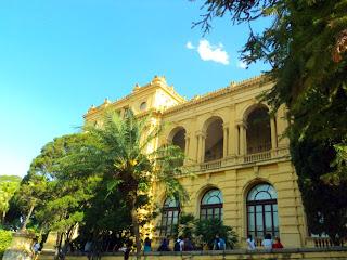 Fachada do Museu Paulista - São Paulo