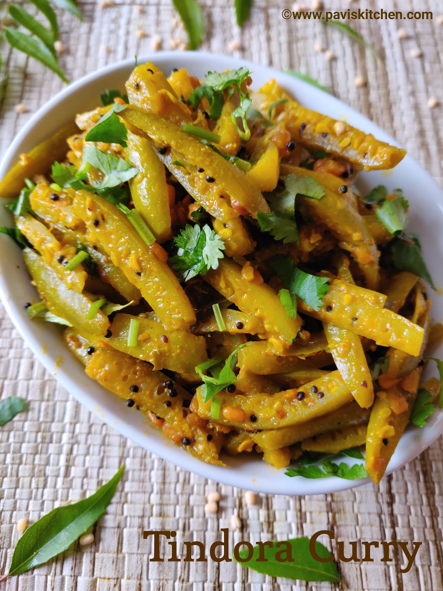 Kovakkai poriyal recipe | Thondekai palya recipe | Kovakkai fry recipe | Tindora fry recipe