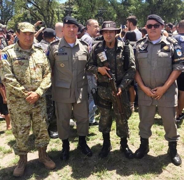 Oficial do 9º BPM conclui Curso Intensivo de Operações e Sobrevivência em Área de Caatinga em PE