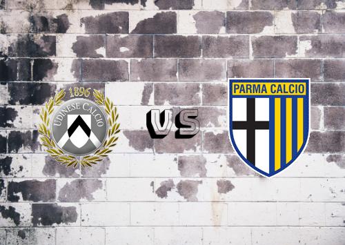 Udinese vs Parma  Resumen