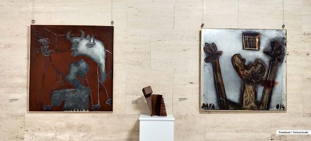 BIC Bizkaia Ezkerralde acoge la exposición 'Memoria' del barakaldés Rafael Cantera Artíguez