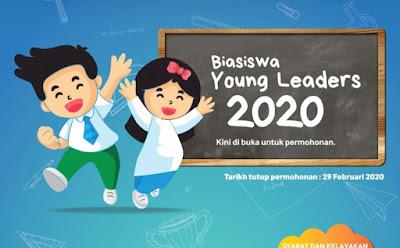 Permohonan Biasiswa Young Leaders 2020 Yayasan TM