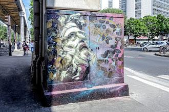 Sunday Street Art : La Prière de Chrysès - Ko - boulevard Vincent Auriol - Paris 13
