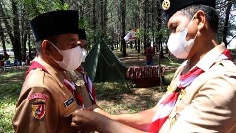 Genius Umar Lantik Ketua dan Pengurus Kwarcab 16 Kota Pariaman