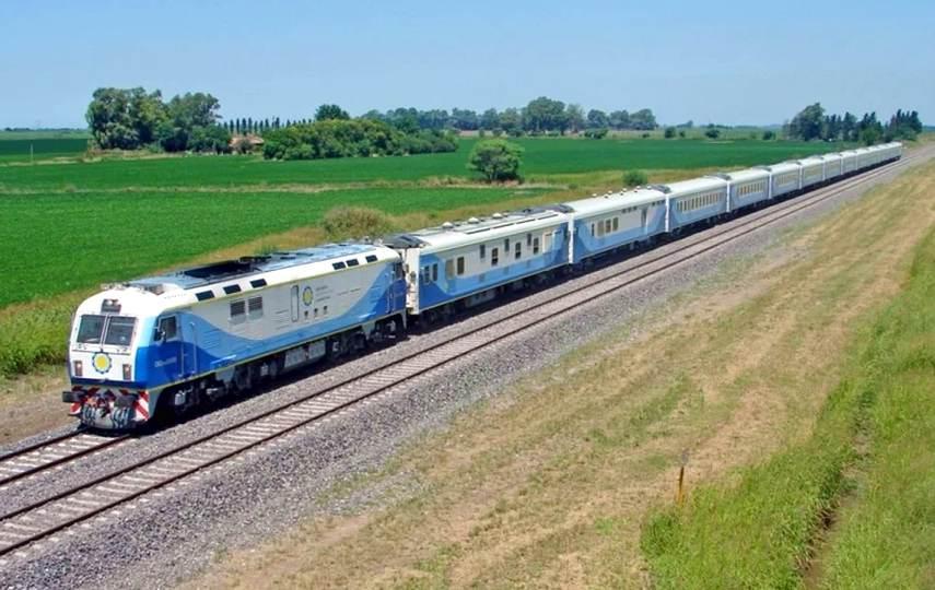 el tren a Pinamar