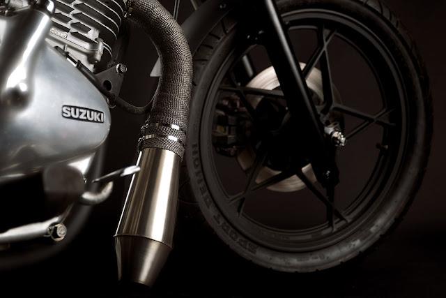 Suzuki GN400 By Tattoo Moto Hell Kustom