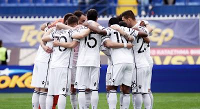 Η αποστολή των παικτών του ΠΑΟΚ για το αυριανό ματςι στα Περιβόλια με τον Πλατανιά