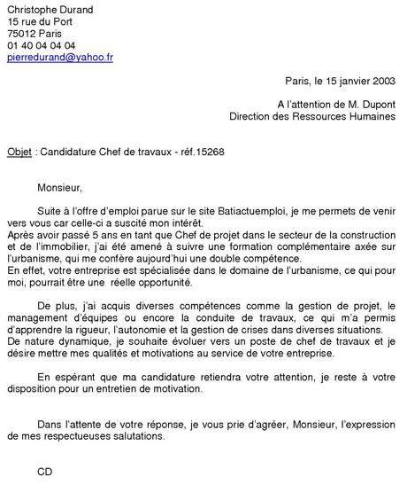 photo reponse lettre administrative lettre de motivation