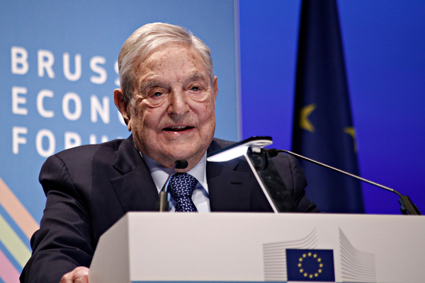 Soros joins Pelosi in attacking Facebook: The government should decide what people post on social media