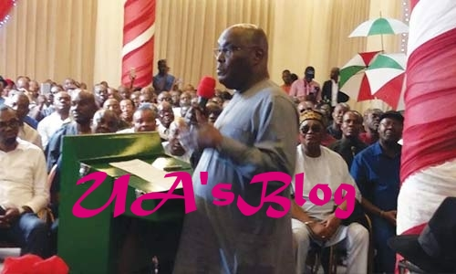 Atiku flags off presidential campaign in P/Harcourt