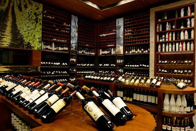 Comprar vinho em La Cav em Santiago do Chile