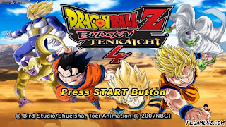 ISO LATINO DRAGON BALL Z TENKAICHI TAG TEAM PPSSPP DBZ TTT