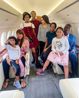 Regina Daniels and Ned Nwoko's Family