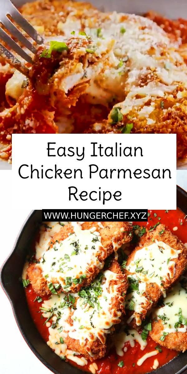 Easy Italian Chicken Parmesan Recipe | Easy Chicken Recipe | Easy Italian Dinner Recipe #chicken #chickenrecipe #easychickenrecipe #italianrecipe #italianfood #chickenparmesan #parmesan #easydinnerrecipe #dinner #dinnerrecipe #dish #maindish