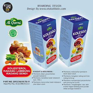 Jasa desain packaging madu kesehatan