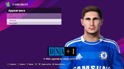 PES 2020 Faces Frank Lampard by DNA+I