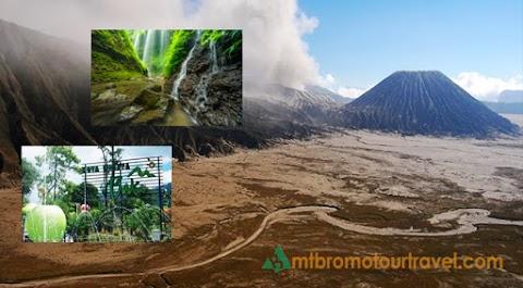 Mt Bromo, Madakaripura Waterfall, Batu Malang City Tour