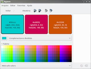 Edite suas cores