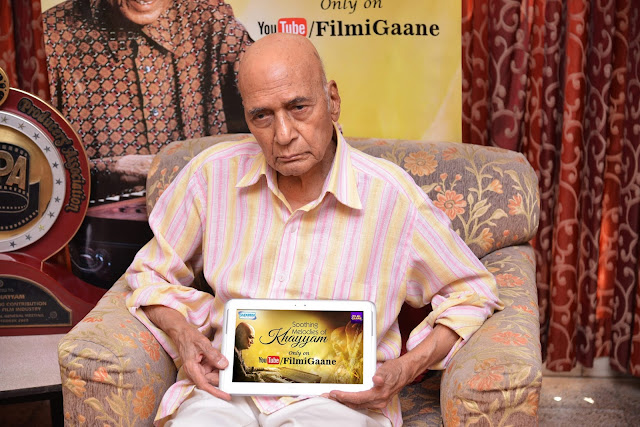 "Veteran Music Composer ""Khayyam"" launches his Jukebox titled"