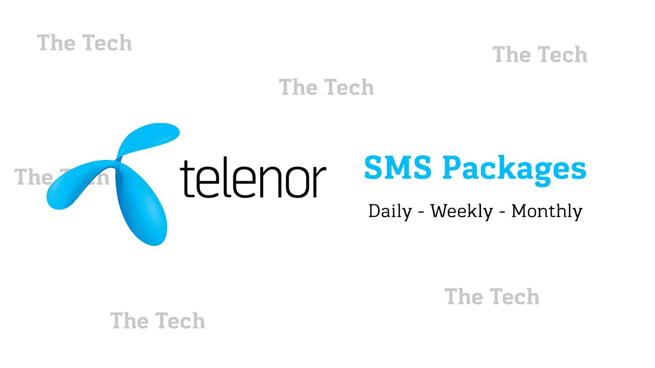 Telenor Sms Package 2020