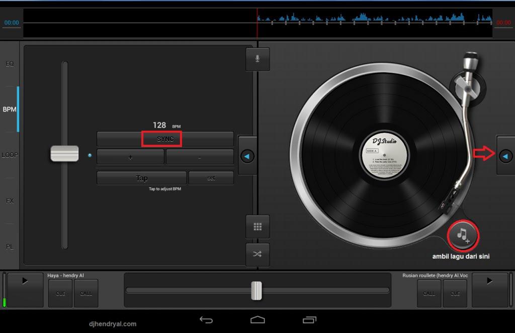 Aplikasi DJ Android terbaik 2015, Dj studio 5