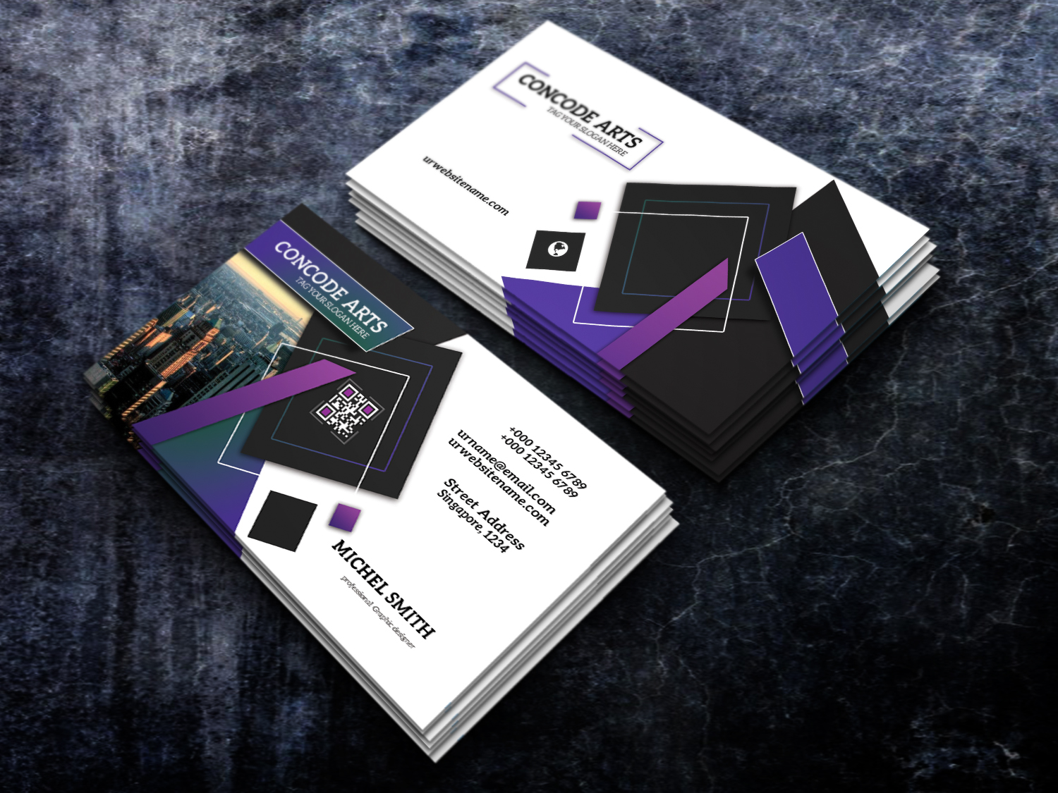 free professional business card vol 89  professional