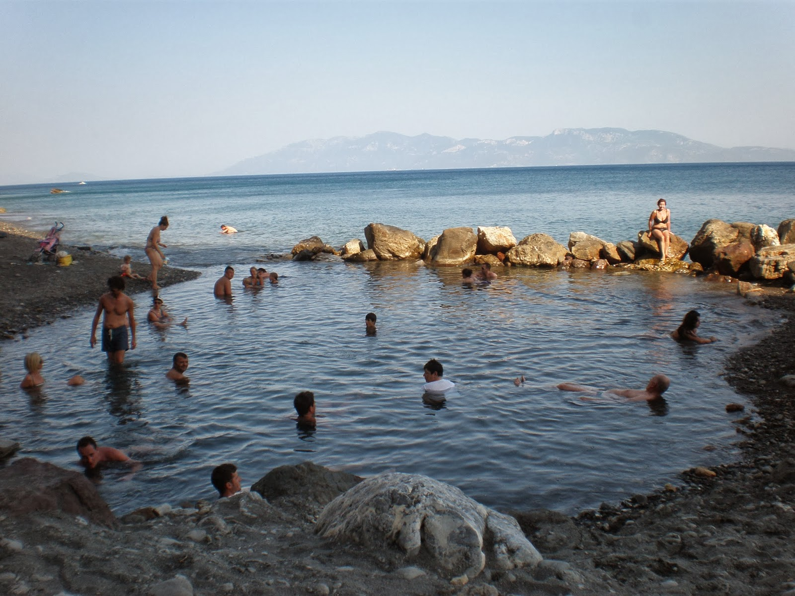thermal beach, therma beach, bubble beach, hot springs, beach, relax, sea, sun, sand, holiday, Kos, Greece, Europe, traditional church, view, mountain, zia, lambi, kos town, beautiful view, travel, travelling, holiday, sea, sun,