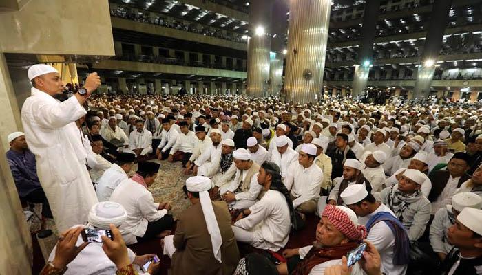 Dzikir dan Doa Cinta untuk Ustaz Arifin Ilham dari Istiqlal