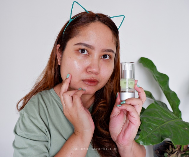 Review Skincare Bakuchiol Mia Glansie Jeju Green Tea