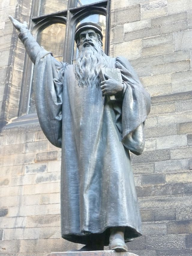 Scottish Reformation - Statue of John Knox