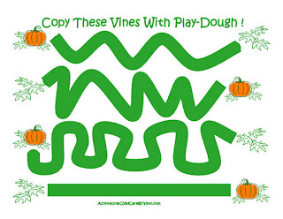 Free Printable Play-Doh (Play-Dough) Mats (2/3)