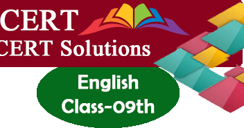 NCERT Solutions for Class 9 English - Study Rankers