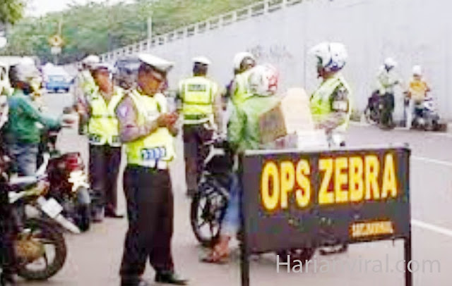 Polisi Indonesia Gelar Operasi Zebra Serentak