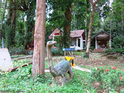 Shrine of the Khao Lak God dino