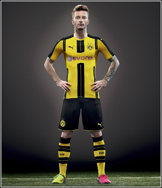 New Borussia Dortmund 2016-2017 Home Kit Puma